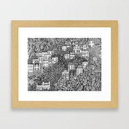 Nob Hill Framed Art Print