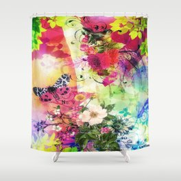 Floral Fantasy 7 Shower Curtain