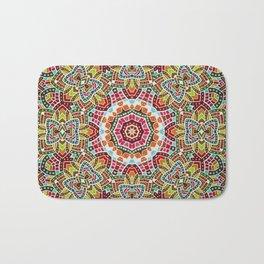 Persian kaleidoscopic Mosaic G508 Bath Mat