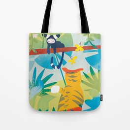 The Tyger Part 1 Tote Bag