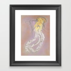 The Jellyfish Framed Art Print