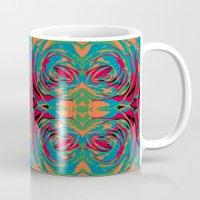 baroque Mugs featuring baroque pop by Matthias Hennig