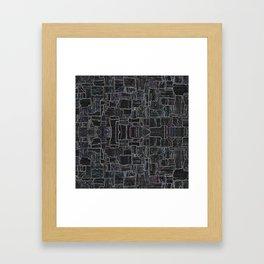 Glowing Field Framed Art Print