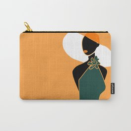 Midnight Citrus - Lady No 02 Carry-All Pouch