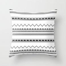 Retro Gaming Aztec Pattern Throw Pillow