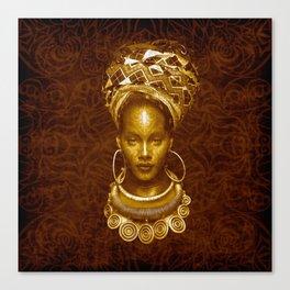 Afrofuturist style Canvas Print