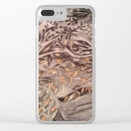 Tree Gazing Clear iPhone Case