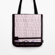 The Rust Coloured Soil: Typewriter Tote Bag