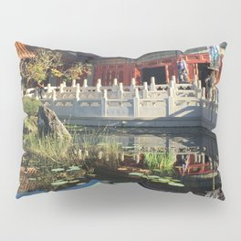 China Pavilion Pillow Sham