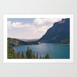 Sun Point, Glacier National Park, 35mm Art Print
