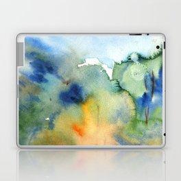 watercolor fall trees Laptop & iPad Skin