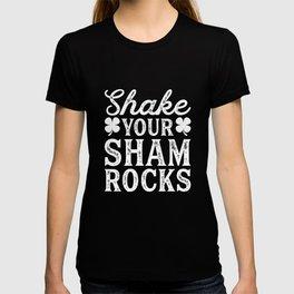 Shake Your Shamrocks Clover Irish St. Patricks Day T-shirt