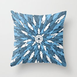Roches #3 Throw Pillow