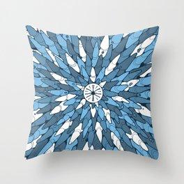 Roches #3 Throw Pillow