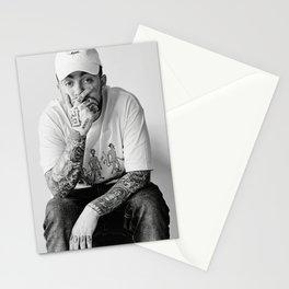 Mac Miller Posters Prints Canvas, Rapper Singer, Music Poster, Wall Art Print, Hip Hop Poster, Star Singer, Black White Poster, Gift Idea Stationery Cards