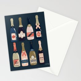 French Champagne Collection – Teal Stationery Cards