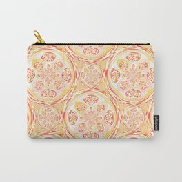 Geometric pizza pattern Carry-All Pouch