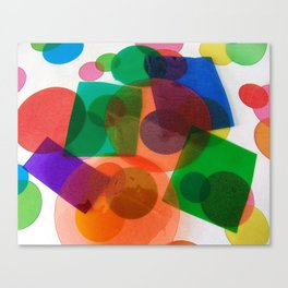 Assorted Shapes Canvas Print