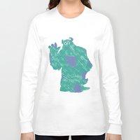 monster inc Long Sleeve T-shirts featuring MONSTER INC. : SULLEY by DrakenStuff+