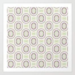 Grazioso Cameo Mint Art Print
