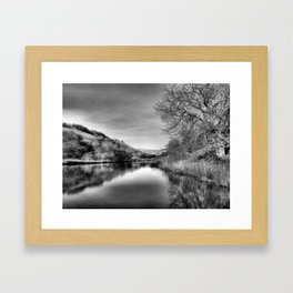 Millington | B&W Framed Art Print