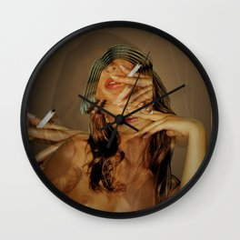 Station 53 x dreams in the night Wall Clock