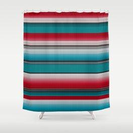 Mexican serape #5 Shower Curtain