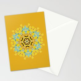 bee's flwer alone Stationery Cards
