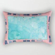 Turkish towel pool Rectangular Pillow