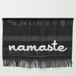 Namaste (Brush) Wall Hanging
