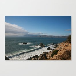 Coast of San Francisco Canvas Print