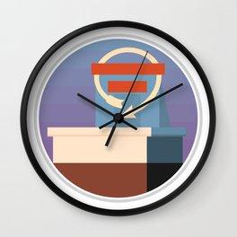 Kansas City Icons Wall Clock