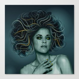 Gorgon Medusa Canvas Print