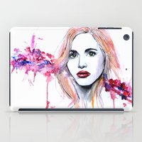 lydia martin iPad Cases featuring Lydia Martin by Sterekism