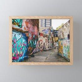 Forgoten alleys Framed Mini Art Print