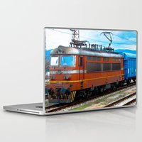 train Laptop & iPad Skins featuring Train by MaximusMax76