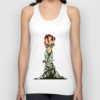 poison ivy Tank Tops featuring Poison Ivy by Ayse Deniz