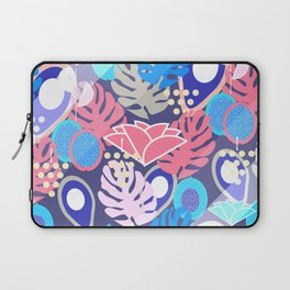 Tropical in blue light Laptop Sleeve