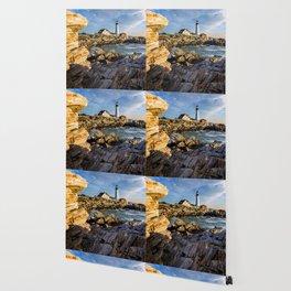 Cape Elizabeth Lighthouse New England Wallpaper