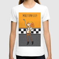 fifth element T-shirts featuring What Time is It? Fifth Element Time Multipass!  by maz layley