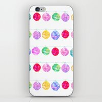 lanterns iPhone & iPod Skins featuring Lanterns by Kara Hayley