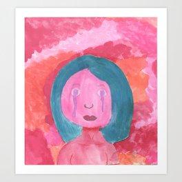 Pink Lady Art Print