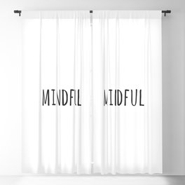 Mindful Blackout Curtain