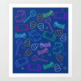 Perfect friday night #2 Art Print