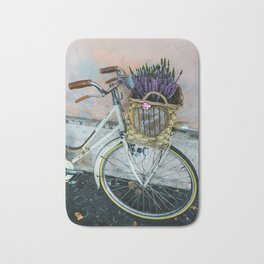 Sognare: Dream BIG Lavender Bicycle Bath Mat