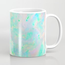 Light Blue Opal Coffee Mug