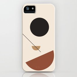 L'ascesa - On The Rise - modern abstract art hand drawn iPhone Case