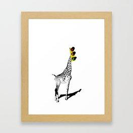 Traffic Zoo  Framed Art Print