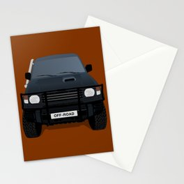 Let's Off - Road! Stationery Cards
