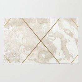Gold & Marble 01 Rug